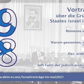 Israelvorträge im Mai