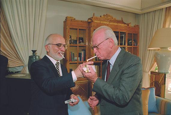 Rabin-Hussein