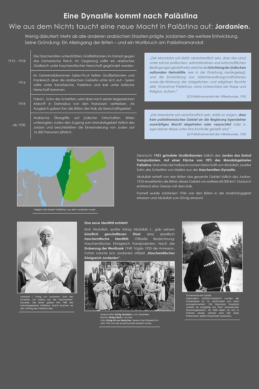 14 Eine Dynastie kommt nach Palästina
