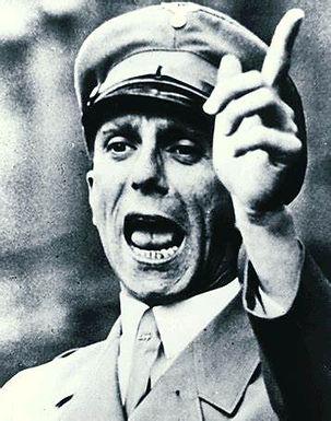 Notierte Joseph Goebbels  nach einem Treffen mit dem  Mufti von Jerusalem im Mai 1944.