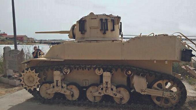 ägypt. Panzer