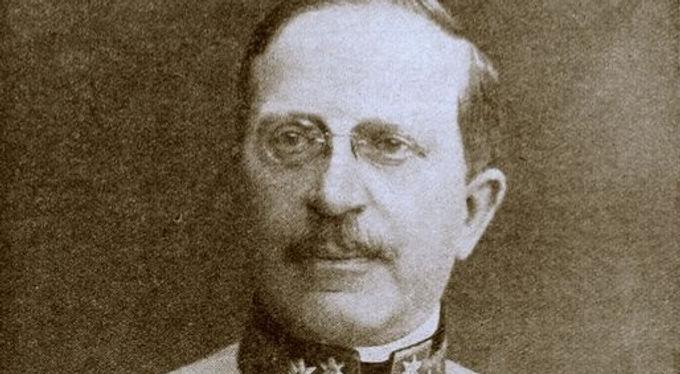 Generaloberst Arthur Freiherr Arz von Straußenburg