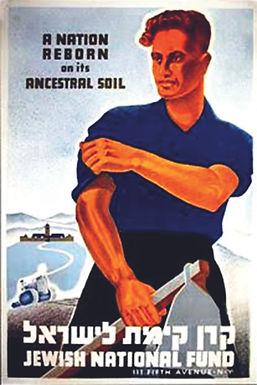 Plakat JNF
