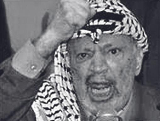 So Yassir Arafat  am 21. Oktober 1966.