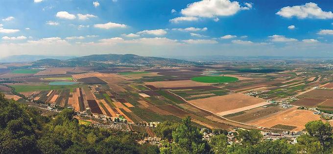 Jezreel-Tal heute