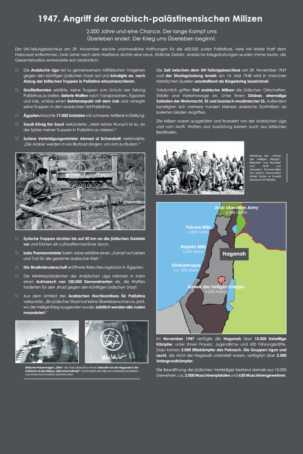 20 Angriff der arabisch-palästinensischen Milizen