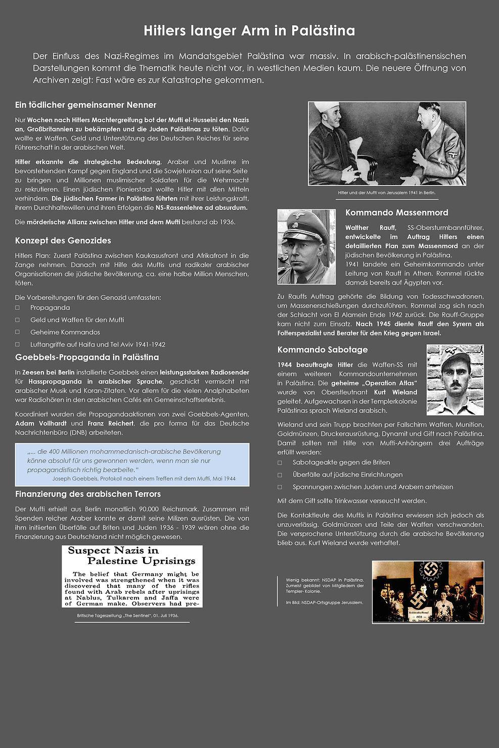 17 Hitlers langer Arm in Palästina