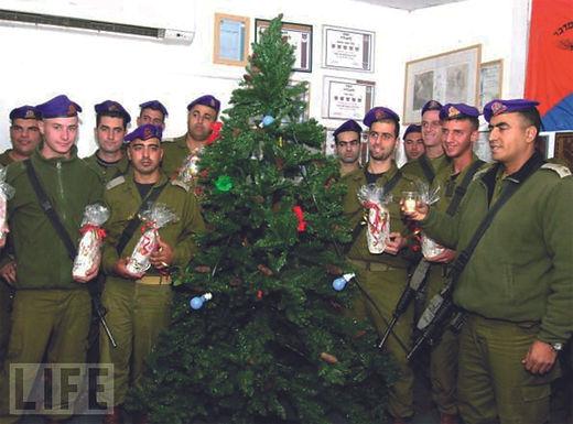 Weihnachten in der IDF
