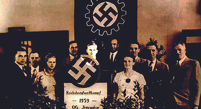 NSDAP in Palästina