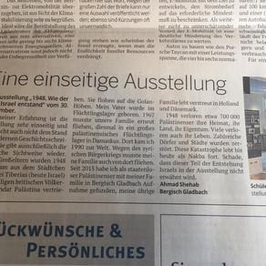 Reaktion auf Leserbrief im Kölner Stadt-Anzeiger