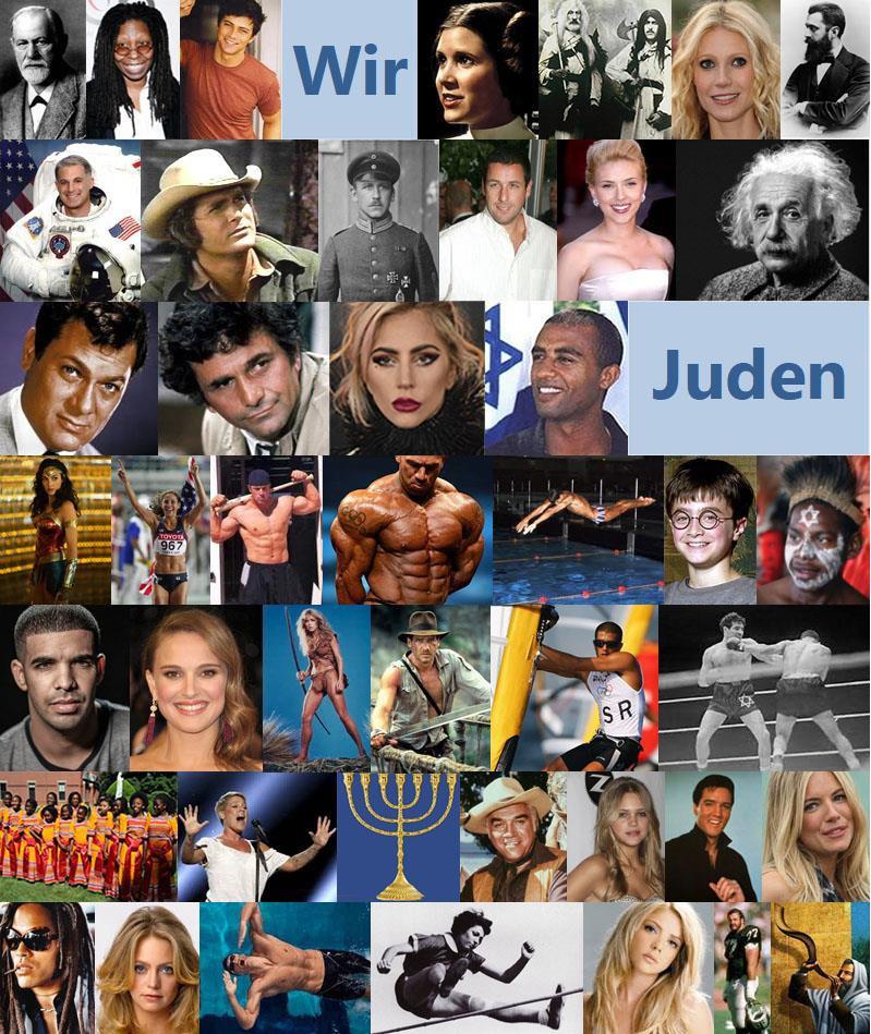 Wir Juden Collage volle Größe