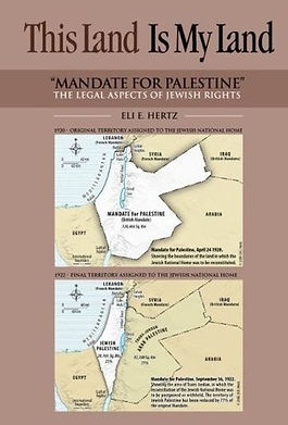 Mandate for Palestine - The legal Aspects of Jewish Rights