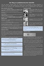 29 Der Weg zur palästinensischen Inentität