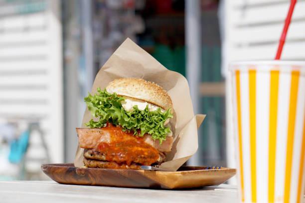hamburger de Sasebo Nagasaki