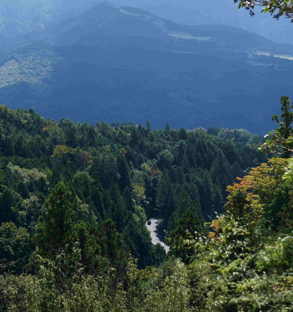 Japon montagne route