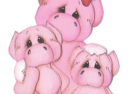 #414 Mama Pig and Babies