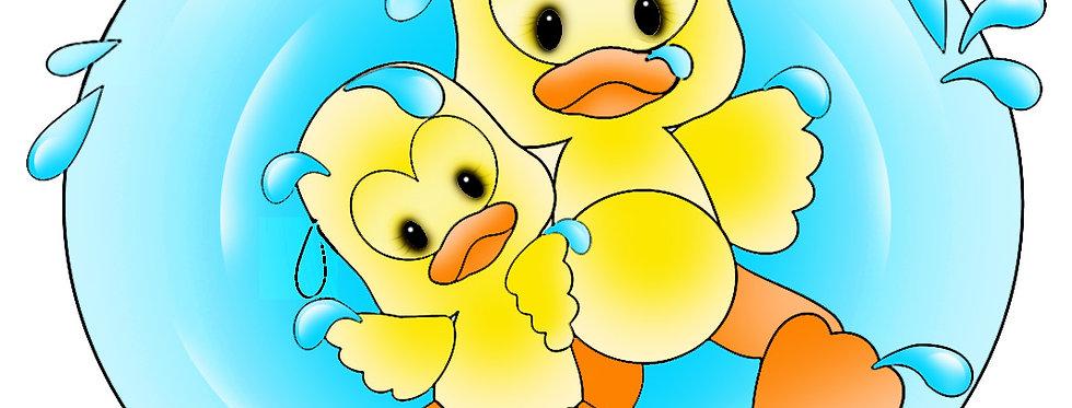 #1027 Puddle Ducks