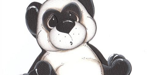 #316 Sitting Panda