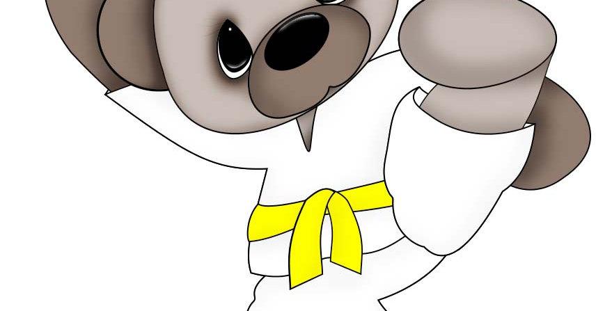 #926 Karate Bear