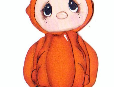 #845 Pumpkin Costume
