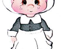 #724 Pilgrim Girl