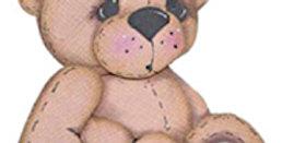 #91 Sitting Teddy