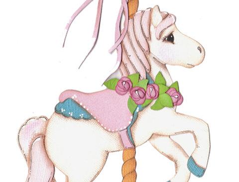 #375 Carousel Horse