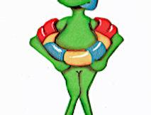 #616 Floaty Frog