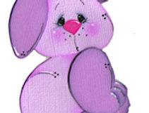 #67 Purple Bunny