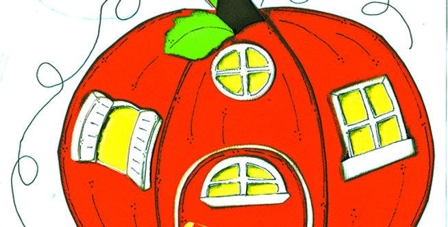 #510 Pumpkin House