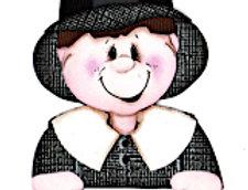 #532 Pilgrim Boy Peeker