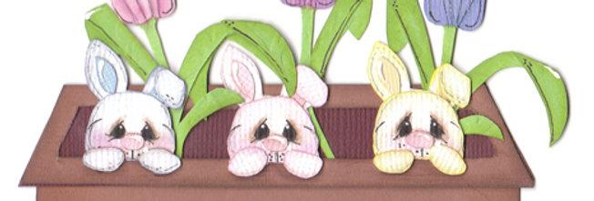 #366 Flower Box Bunny