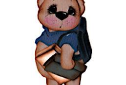#887 Back to School Bear