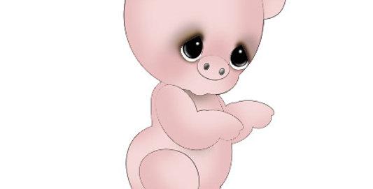 #937 Little Piggy