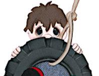 #686 Swinging Boy