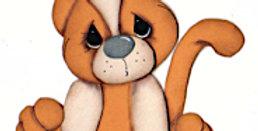 #836 Orange Kitty