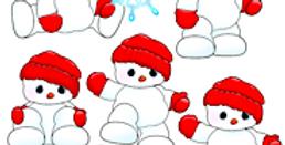 #1041 Snow Flakes