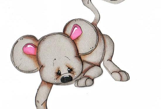 #584 Mistletoe Mouse