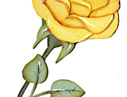 #608 Yellow Rose
