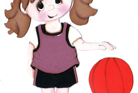 #656 Girl or Boy Basket Ball