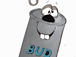 #579 Bud Can