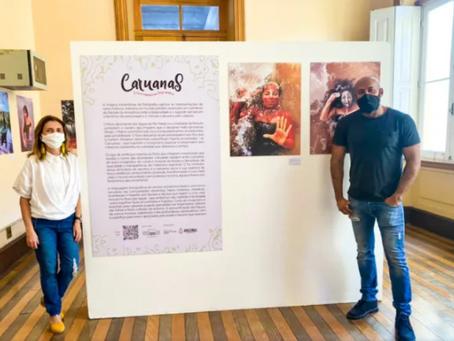 """Em Manaus, exposição """"Caruanas"""" traz estórias do imaginário caboclo"""