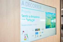 Projeto Itinerante Sentir a Amazônia em Portugal, no Âmbito Cultural do El Corte Inglés