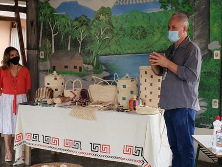 Parceria entre Prefeitura e Zagaia Amazônia promove oficinas e consultorias para artesãos manauaras