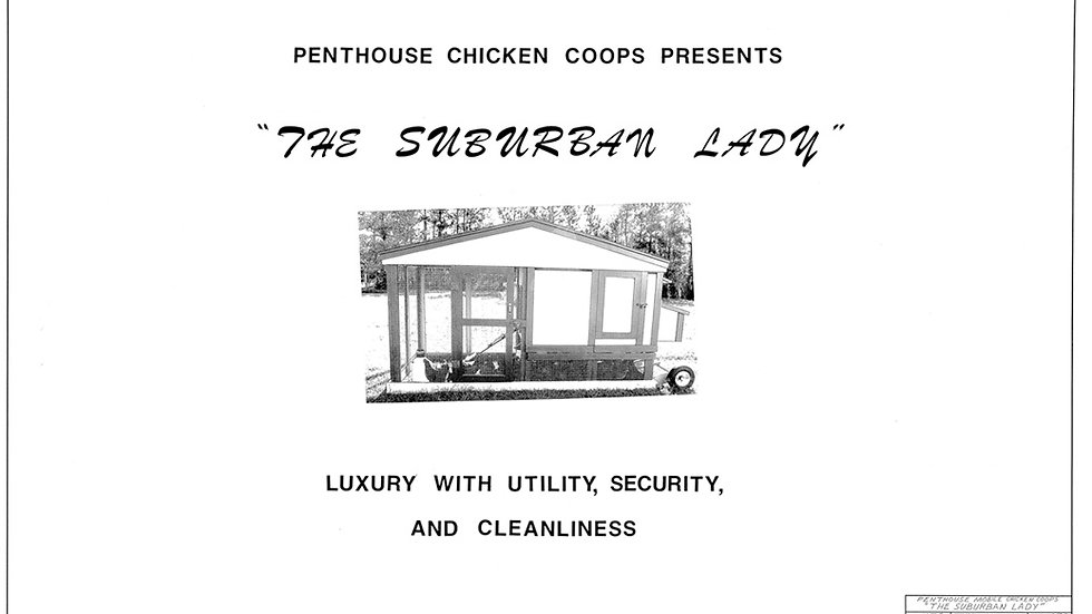 The Suburban Lady Architectural Drawing Set