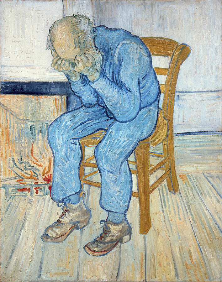 Old man sorrow - Vincent Van Gogh