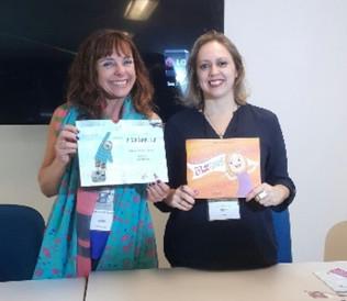 Inclusão social infantil na Bienal do Livro