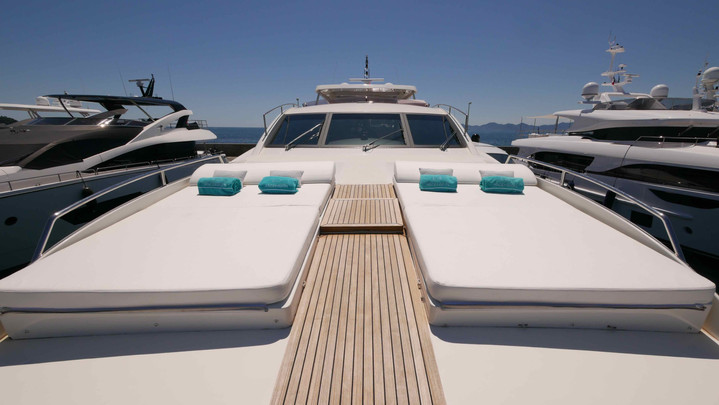Sunbath front deck
