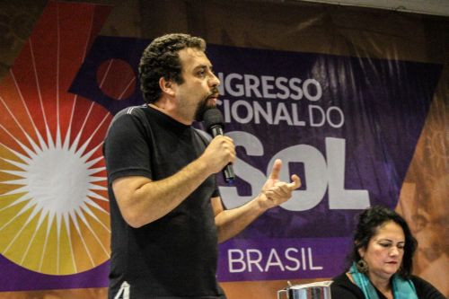 Boulos, candidato do Psol