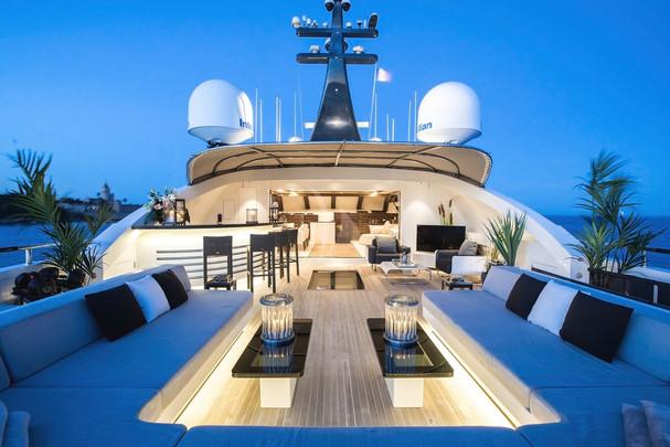 ske deck evening